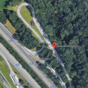Parkplatz A99 Ri Norden zw. Kirchheim und Aschheim