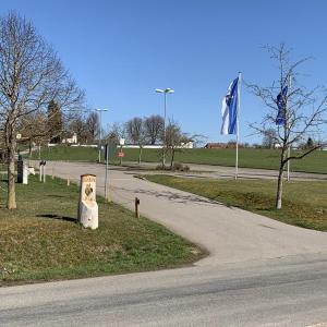 Parkplatz  Dreischluchten Halle